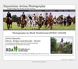 Equestrian Action Photography